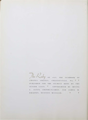 Page 4, 1934 Edition, Ursinus College - Ruby Yearbook (Collegeville, PA) online yearbook collection