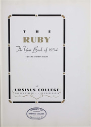 Page 5, 1934 Edition, Ursinus College - Ruby Yearbook (Collegeville, PA) online yearbook collection