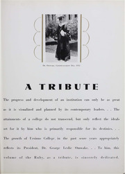 Page 9, 1934 Edition, Ursinus College - Ruby Yearbook (Collegeville, PA) online yearbook collection