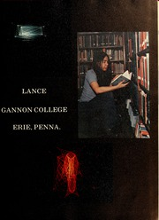 Page 5, 1972 Edition, Gannon University - Lance Yearbook (Erie, PA) online yearbook collection