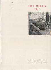 Page 5, 1941 Edition, Beaver College - Beechbark Yearbook (Glenside, PA) online yearbook collection
