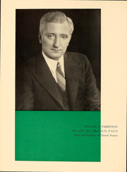 Page 10, 1940 Edition, Temple University School of Medicine - Skull Yearbook (Philadelphia, PA) online yearbook collection