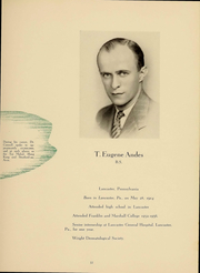 Page 17, 1940 Edition, Temple University School of Medicine - Skull Yearbook (Philadelphia, PA) online yearbook collection