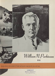 Page 11, 1941 Edition, Temple University School of Medicine - Skull Yearbook (Philadelphia, PA) online yearbook collection