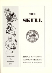 Page 7, 1949 Edition, Temple University School of Medicine - Skull Yearbook (Philadelphia, PA) online yearbook collection