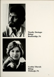 Page 55, 1977 Edition, La Roche College - Rock Yearbook (Pittsburgh, PA) online yearbook collection