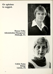 Page 58, 1977 Edition, La Roche College - Rock Yearbook (Pittsburgh, PA) online yearbook collection