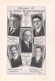 Page 14, 1921 Edition, University of Pittsburgh - Owl Yearbook (Pittsburgh, PA) online yearbook collection