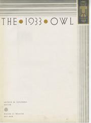 Page 7, 1933 Edition, University of Pittsburgh - Owl Yearbook (Pittsburgh, PA) online yearbook collection