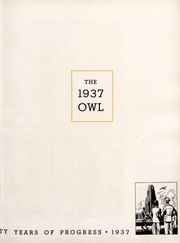 Page 7, 1937 Edition, University of Pittsburgh - Owl Yearbook (Pittsburgh, PA) online yearbook collection