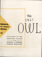 Page 9, 1937 Edition, University of Pittsburgh - Owl Yearbook (Pittsburgh, PA) online yearbook collection