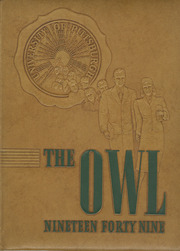 1949 Edition, University of Pittsburgh - Owl Yearbook (Pittsburgh, PA)