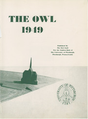 Page 7, 1949 Edition, University of Pittsburgh - Owl Yearbook (Pittsburgh, PA) online yearbook collection
