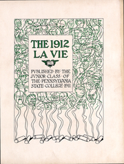 Page 2, 1912 Edition, Penn State University - La Vie Yearbook (University Park, PA) online yearbook collection
