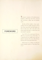 Page 10, 1952 Edition, Penn State University - La Vie Yearbook (University Park, PA) online yearbook collection