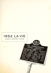 Page 7, 1952 Edition, Penn State University - La Vie Yearbook (University Park, PA) online yearbook collection