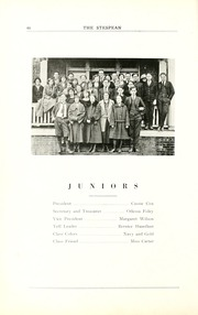Page 56, 1924 Edition, Union College - Stespean Yearbook (Barbourville, KY) online yearbook collection