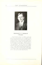 Page 20, 1925 Edition, Union College - Stespean Yearbook (Barbourville, KY) online yearbook collection