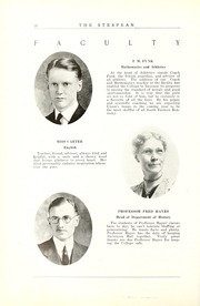 Page 22, 1925 Edition, Union College - Stespean Yearbook (Barbourville, KY) online yearbook collection