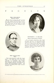 Page 23, 1925 Edition, Union College - Stespean Yearbook (Barbourville, KY) online yearbook collection