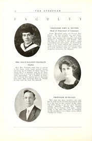 Page 24, 1925 Edition, Union College - Stespean Yearbook (Barbourville, KY) online yearbook collection