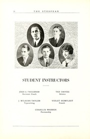 Page 26, 1925 Edition, Union College - Stespean Yearbook (Barbourville, KY) online yearbook collection