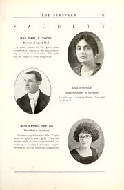 Page 27, 1925 Edition, Union College - Stespean Yearbook (Barbourville, KY) online yearbook collection