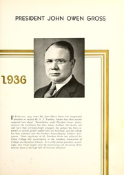 Page 11, 1936 Edition, Union College - Stespean Yearbook (Barbourville, KY) online yearbook collection