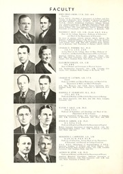 Page 14, 1936 Edition, Union College - Stespean Yearbook (Barbourville, KY) online yearbook collection