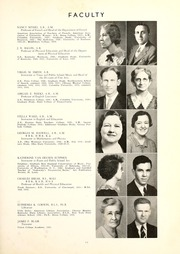 Page 15, 1936 Edition, Union College - Stespean Yearbook (Barbourville, KY) online yearbook collection