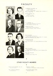 Page 16, 1936 Edition, Union College - Stespean Yearbook (Barbourville, KY) online yearbook collection