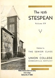 Page 7, 1936 Edition, Union College - Stespean Yearbook (Barbourville, KY) online yearbook collection