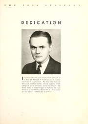 Page 9, 1936 Edition, Union College - Stespean Yearbook (Barbourville, KY) online yearbook collection