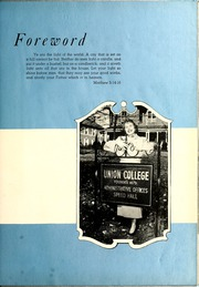 Page 5, 1951 Edition, Union College - Stespean Yearbook (Barbourville, KY) online yearbook collection