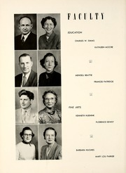 Page 16, 1953 Edition, Union College - Stespean Yearbook (Barbourville, KY) online yearbook collection