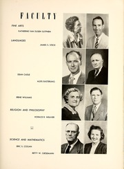 Page 17, 1953 Edition, Union College - Stespean Yearbook (Barbourville, KY) online yearbook collection