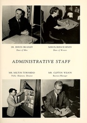 Page 13, 1954 Edition, Union College - Stespean Yearbook (Barbourville, KY) online yearbook collection