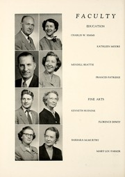 Page 14, 1954 Edition, Union College - Stespean Yearbook (Barbourville, KY) online yearbook collection