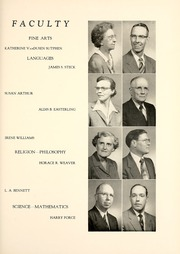 Page 15, 1954 Edition, Union College - Stespean Yearbook (Barbourville, KY) online yearbook collection