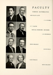 Page 16, 1954 Edition, Union College - Stespean Yearbook (Barbourville, KY) online yearbook collection