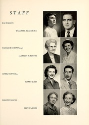 Page 17, 1954 Edition, Union College - Stespean Yearbook (Barbourville, KY) online yearbook collection