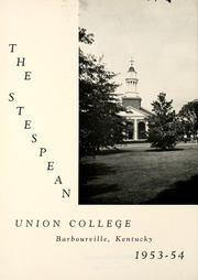 Page 6, 1954 Edition, Union College - Stespean Yearbook (Barbourville, KY) online yearbook collection