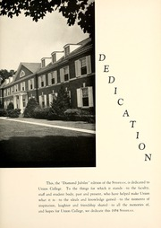 Page 7, 1954 Edition, Union College - Stespean Yearbook (Barbourville, KY) online yearbook collection