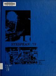1973 Edition, Union College - Stespean Yearbook (Barbourville, KY)