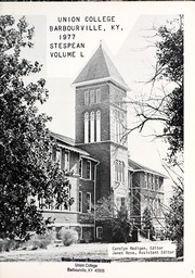 Page 5, 1977 Edition, Union College - Stespean Yearbook (Barbourville, KY) online yearbook collection