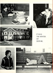 Page 15, 1980 Edition, Union College - Stespean Yearbook (Barbourville, KY) online yearbook collection