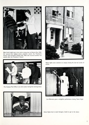 Page 9, 1983 Edition, Union College - Stespean Yearbook (Barbourville, KY) online yearbook collection