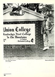 Page 14, 1988 Edition, Union College - Stespean Yearbook (Barbourville, KY) online yearbook collection