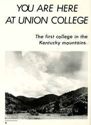 Page 6, 1988 Edition, Union College - Stespean Yearbook (Barbourville, KY) online yearbook collection