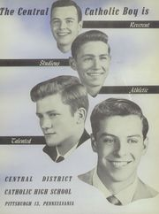 Page 7, 1954 Edition, Central Catholic High School - Towers Yearbook (Pittsburgh, PA) online yearbook collection